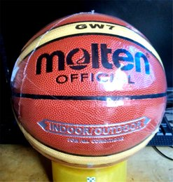 Wholesale NEW Brand Hight Quality Molten GW7 Basketball Ball PU Materia Official Size7 Basketball Free With Net Bag Needle Pump