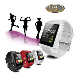 Wholesale Smart Phone Android Windows - Free shiping Bluetooth Smart Wristwatch U8 Plus Sport Watch Anti-lost Phone Watch Support Android & IOS Systems Health Wearable Devices