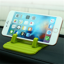Wholesale used cars blue - JOYROOM Universal Phone Holder Soft Silicone Car Dashboard   Home Use Desktop Bracket For iPhone For Smartphone