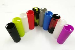 sigelei cassa in silicone da 75 watt Sconti Custodia in silicone per Vape Pen 22, Custodia protettiva per Vape Pen 22 mod vs Alien 220W AL85W, Custodia protettiva colorata