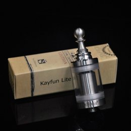 Wholesale Better Design - Kayfun Lite Five Pawns Rba atomizer 100% 316 stainless steel better than original top design with high quality