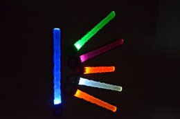 Wholesale wholesale slap bands - LED Slap Band, Glow bracelet, armband Glow in the dark led flashing armband led grow brakelet ruunning gear