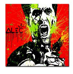 Wholesale Hair Posters - Alec red hair Art canvas paint POP ART Giclee poster paint on canvas for wall decoration painting