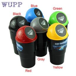 suportes de lixo para automóveis Desconto NOVA lata de lixo de carro Lata de lixo de lixo Caso Titular Caso Bin car-styling