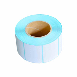 Wholesale Printing Paper Stickers - Barcode Paper Thermal Stickers Printing Paper Electronic Says Label Paper 40mm X 20mm X1800pcs