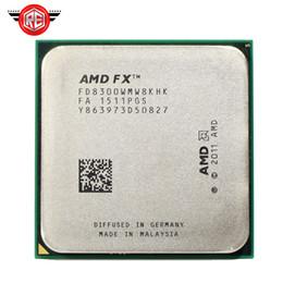 Пакет cpu онлайн-AMD FX 8300 3.3 GHz восьмиядерный 8м процессорный разъем AM3 + процессор 95W объемный пакет FX-8300