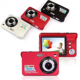 "Wholesale Digital Super Zoom Camera - Newest 18Mp Max 1280x720P HD Video Super Gift Digital Camera with 3Mp Sensor 2.7"" LCD Display 8X Digital Zoom and Li-battery"