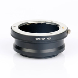 Wholesale Nex Lens Adapters - Wholesale- Camera Adapter Ring PB-NEX for Praktica Pb Lens to NEX E Mount NEX For A5100 A6000 NEX-5N NEX-5C NEX-VG10 NEX-VG20