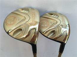 Wholesale Golf Iv - Katana Voltio IV Hi Fairway Woods Golf Fairway Woods Golf Clubs #3 #5 Regular or Stiff Flex Graphite Shaft With Head Cover