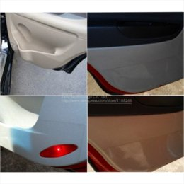 Wholesale Body Skin Glue - 10cm 15cm 20 30cm x5M Rhino Skin Sticker Car Bumper Hood Paint Protection Film PVC Vinyl Clear Transparence Film Thickness 0.2mm