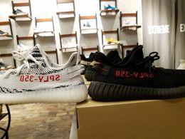 Wholesale Sneakers Low Sole - Boost 350 v2 Black Red,Sply 350 V2 Zebra Black White,Semi Frozen Yellow Gum Sole,350 V2 Beluga 2.0 Sneaker Shoes