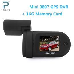 Wholesale Car Dvr Ambarella Gps - Mini 0807 1080P Full HD 1.5 inch TFT Screen GPS Car DVR Camera Recorder 135 Degree G-sensor with 16G Memory Card
