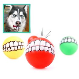 Wholesale Dog Toys Bite - The Newest Pet toys Super Upset Evade Glue Ball Teeth Dog Bites Dog Toys Pet Products Pet Chews Necessary