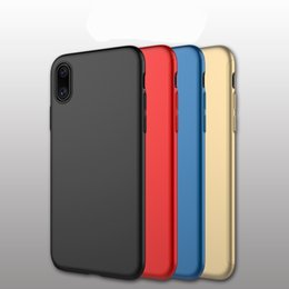 Wholesale Iphone Blue Rear Case - luxury four color comfortable Clear Shockproof iphone case Rear cover type Phone Protector for Iphone 8