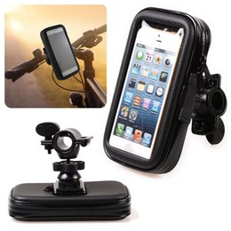 Wholesale Waterproof Motorcycle Case - 5pcs Bike Bicycle Phone Holder Waterproof Case Bag Motorcycle Mobile Cell Accessory For Samsung Galaxy S8 S7 Edge