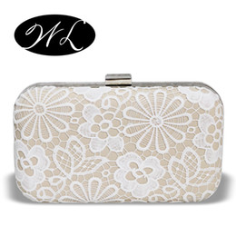 Wholesale Formal Attire - Wholesale- 2016 woman bag new evening bags white bag wedding or the maid of honor package party formal attire handbag Free Shipping