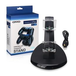 Chargeur de support de sortie de la station d'accueil de charge rapide à double poignée USB pour chargeur Playstation 4 PS4 ? partir de fabricateur