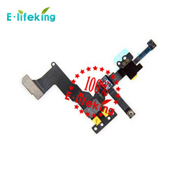 Wholesale Replacement Back - Front Camera with flex cable & Back Camera Lens Cam Replacement for iphone 5 & 5s & 5C Hot Selling