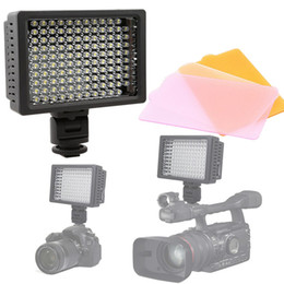 Wholesale Video Light 126 - Free Shipping HD-126 LED Video Photo Light Lighting Lamp for DV Camcorder Digital SLR Cameras