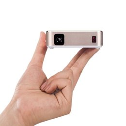 Wholesale Usb Iphone App - PaPa Mini 1080P HD Portable Phone Projector Home Theater With WIFI APP Compatible with Iphone Samsung Ipad Tablet PC