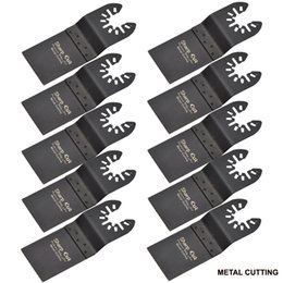 Wholesale Dremel Metal Cutting - 10pcs pack Bi-metal Oscillating Multi Tool saw blades fit for fein,dremel,bosch machines used for metal cutting Plunge Saw Blades