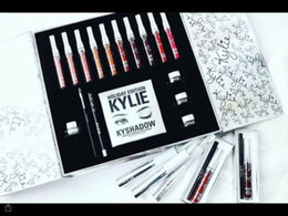 Wholesale Top Selling Gift Boxes - Top Selling Kylie Jenner Cosmetics Holiday Collection Big Box PREORDER INTERNATIONAL Holiday Collection big box for Christmas Gift