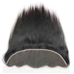 Vison 8a Non Transformés Brésilien Péruvien Indien Indien Vierge Cheveux Weaves Fermeture Non Transformés 13x4 Dentelle Frontale Fermetures ? partir de fabricateur