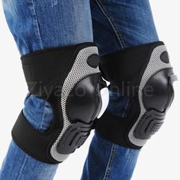 Wholesale Armor Knee Pads - Wholesale- Adults Knee Shin Armor Gear Protector Guard Pads Protection for Bike Motorcycle Bike Motocross Racing Pad Kneepads