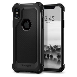 Wholesale Wholesale Spigen - SGP spigen Rugged Armor Extra tpu shell protective cover case for iphone x 8 8plus 5 5s 6 6s 6 6s plus 7 7plus samsung Note8 sell phone case