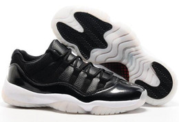 Wholesale Free Gum - Wholesale 2017 Retro XI 11S low INFRARED 23 Navy gum SPACE JAM men basketball shoes with originals box size eur 41-47 free shipping