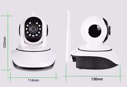Wholesale Security Mobile Camera - Night Vision Security IP Cameras 720P P T camera Mobile Viewing Wireless IP Camera