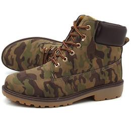Wholesale White Rubber Shorts - Wholesale- High Quality Couple Martin Boots Velvet Boots Autumn Winter Men Tooling Retro Anti-slip Shoes High Men's Short Boots 43 ZYH