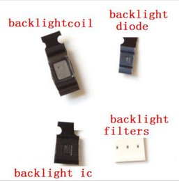 Wholesale Chip Watches - 15set lot full backlight kit for iPhone 6 6plus Backlight IC Chip U1502 + backlight coil L1503 +D1501 diode , filters