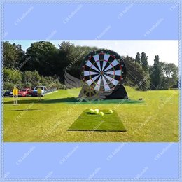 Wholesale Giant Inflatable Dart Board Inflatable Soccer Darts Inflatable Foot Darts for Sale Big Balls and Air Blower Included