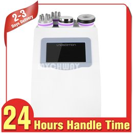 Wholesale 5in1 Ultrasonic Liposuction Machine - Hot Seller 5in1 Ultrasonic Liposuction 40k Cavitation Radio Frequency Beauty Equipment Vacuum Bipolor Rf Machine Slimming