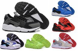 Wholesale Cheap Spiked Shoes For Men - Free Shipping 2016 Air Huarache Running Shoes For Sale Men New Cheap Trainers Online Authentic High Quality Sports Boots Racer Running Shoes