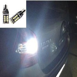 Wholesale Canbus Led Audi A4 - Car Auto LED T10 W5W Canbus 27 SMD 4014LED Light Bulb clearance lamp parking Fog light for AUDI A3 A4 B5 B6 A6 A8 TT Q3 Q5 Q7