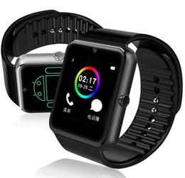2019 relógios inteligentes i5 2017 android smart watch gt08 com câmera bluetooth 4.0 relógio de pulso suporte sim tf cartão smartwatch gt08 a1 dz09 atacado