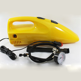 Wholesale Electric Car Cleaning - Newest Multifunction Portable Car Dust Collector Vacuum Cleaner Wet And Dry Electric Air Pump For Tire Inflation Compressor For Cars