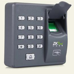 Contraseñas claves online-Huella digital Contraseña Bloqueo de acceso Máquina de control Biométrico Cerradura electrónica Sistema de lector de RFID Lector