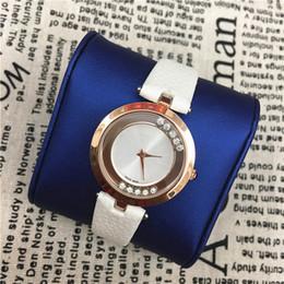 Wholesale Pin Rolls - Luxury Brand Women Watch Leather Rolling Stones Ladies Fashion Quartz Watch Dress Watch Clock Women Montre Femme Reloj mujer free shipping