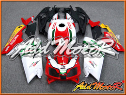 Wholesale Rs 125 - Addmotor Injection Mold Fairing For Aprilia RS125 RS 125 2007 2008 2009 2010 2011 07 08 09 10 11 Red White Green A1212