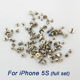 Wholesale Iphone Complete Set - screws set complete for For iphone 4 4s 5 5C 5S 6 6 plus 6s 6s plus