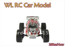 Wholesale Super Mini Rc Cars - Wholesale- WL 2019 High Speed Mini RC Truck 4Ch 1:23 Off-Road Racing Car Model,WLtoys Super Remote Control Car Toy