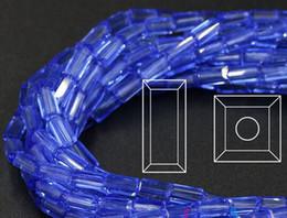 2019 14mm weißes kristallarmband 700 stück pro beutel hohe qualität kristall glasperlen diy lose perlen für schmuck machen 4 * 8mm armband finden perlen