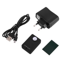 Mini pir uyarısı sensörü kablosuz kızılötesi gsm alarm monitör motion dedektör algılama ev anti-hırsızlık sistemi beyaz siyah ab tak nereden