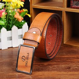 Wholesale High Quality Cummerbund - Men's Leather belt cummerbund Brands Belts For Men women metal buckle strap mens belts luxury designer belts men high quality