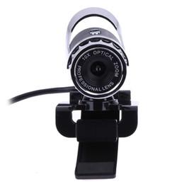 Wholesale Video Camera For Computer - USB 12.0 Mega Pixel HD USB Webcam Web Camera Digital Video 8mm-infinity Webcams 360 Degree MIC for Computer PC Laptop L3EF