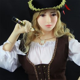 Wholesale Silicone Sex Toy Love - 165cm Full Body Silicone Soft Sex Doll Solid Life Like Very Real Doll Sex-Toys for Man Adult Male Love Toy Masturbation