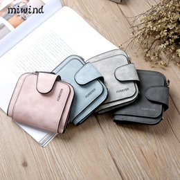 Wholesale New Women S Leather Wallet - 2017 New Fashion Women Wallet Grind arenaceous handbags Women Purse Soft Handbags Card Holder Lady Long Wallet card clip female bag free s